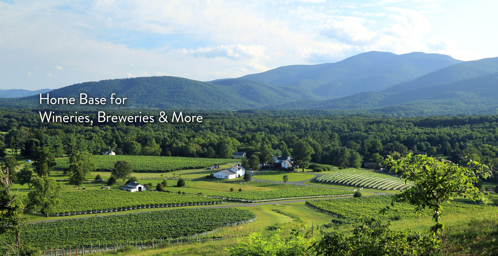 wintergreen is your home base for wineries, breweries, cideries