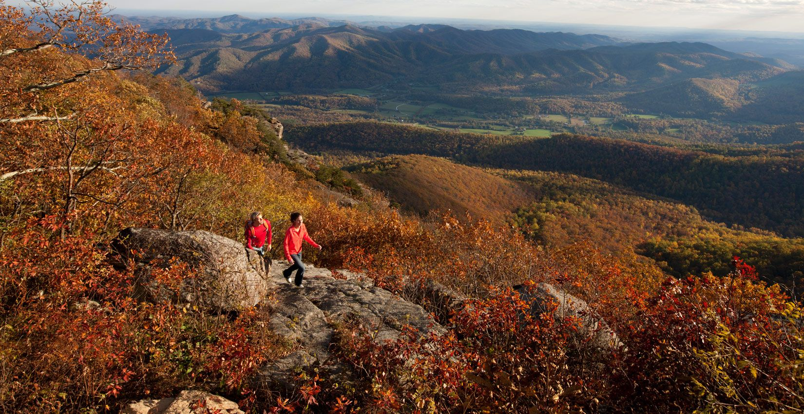 Fall Hiking at Wintergreen Mountain Resort