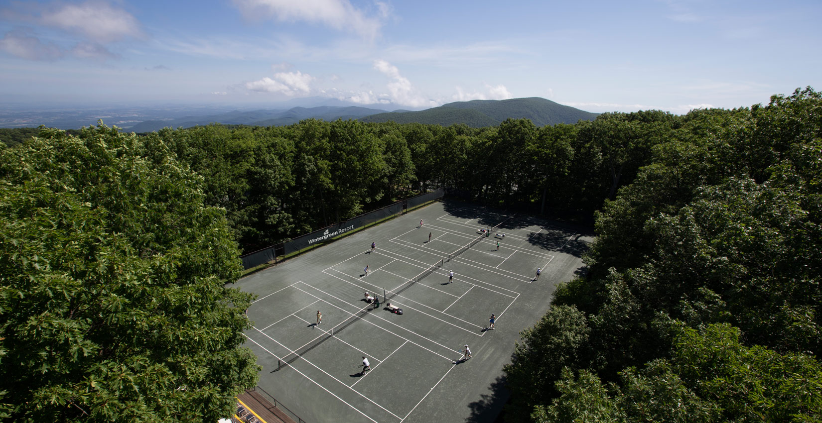 Tennis Vacation at Wintergreen Resort