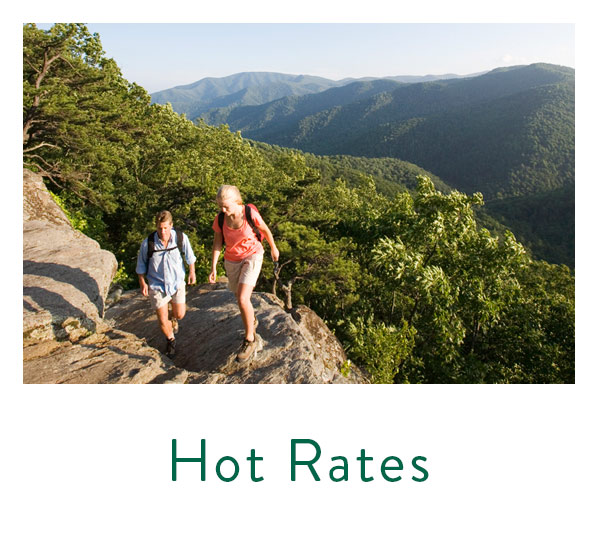 Hot rates, stay longer, save more, at wintergreen resort