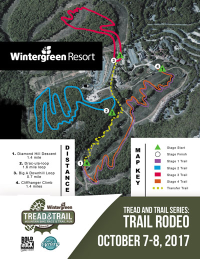 Trail Rodeo Trail Map