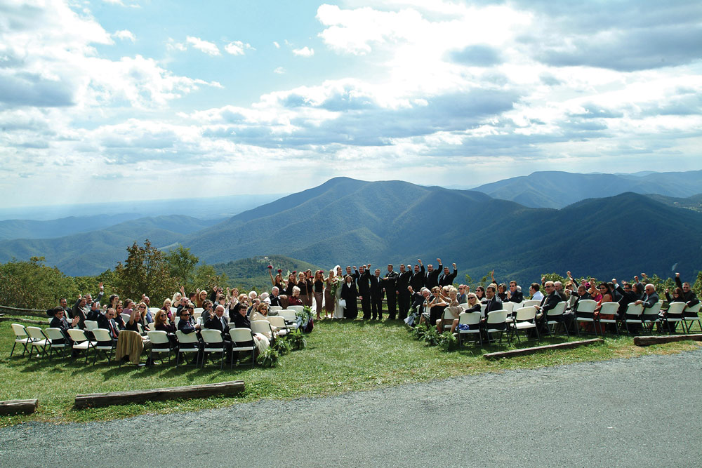 The Lookout Interior Wedding At Overlook