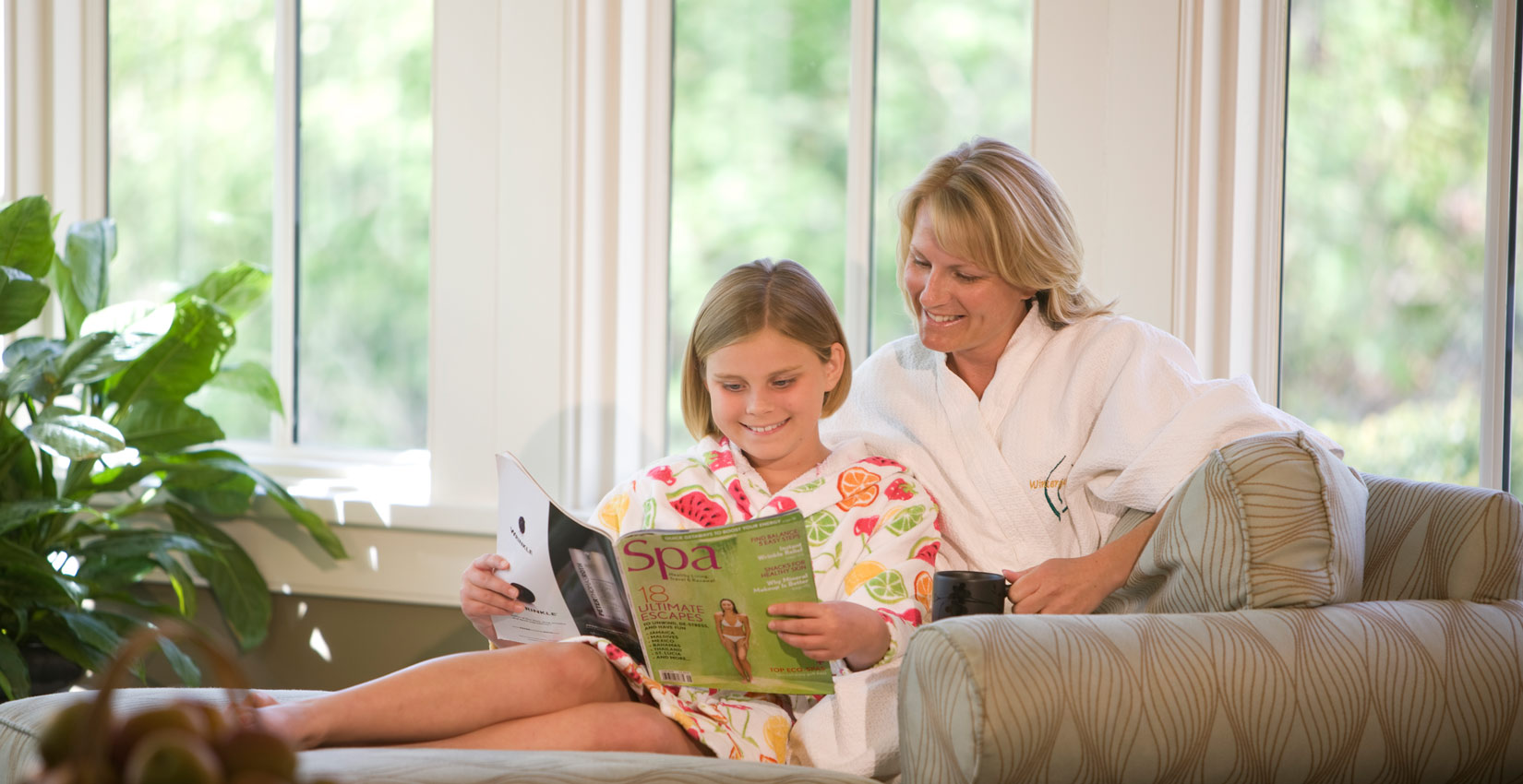 for Mother and daughter spa weekend