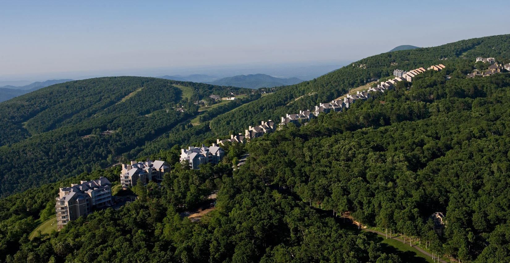 Family summer vacation Condo accommodations in the blue ridge mountains at wintergreen resort