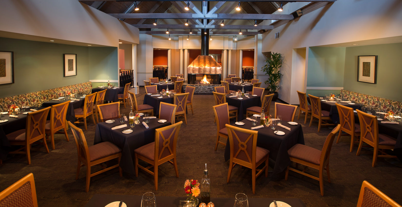 Fine Dining at The Copper Mine Bistro at Wintergreen Resort