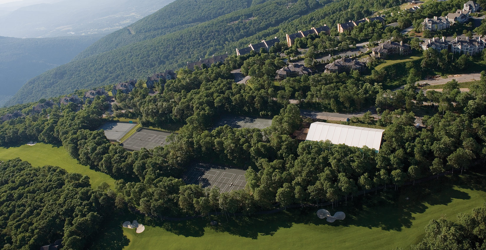 top tennis academy at Wintergreen Resort