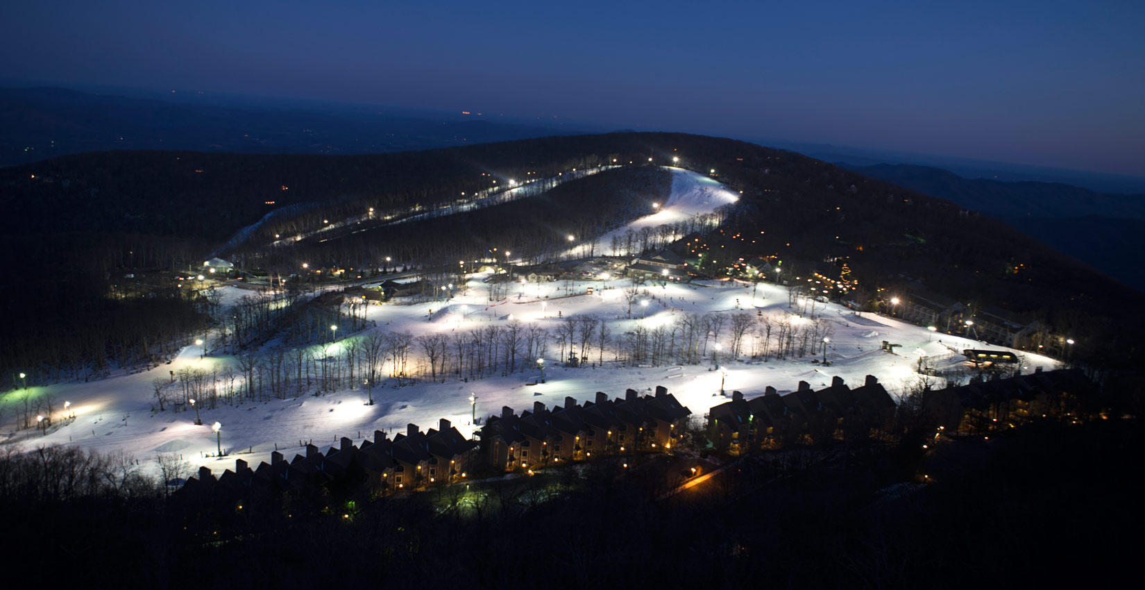 Blue Ridge Mountain Family Skiing at Wintergreen Resort