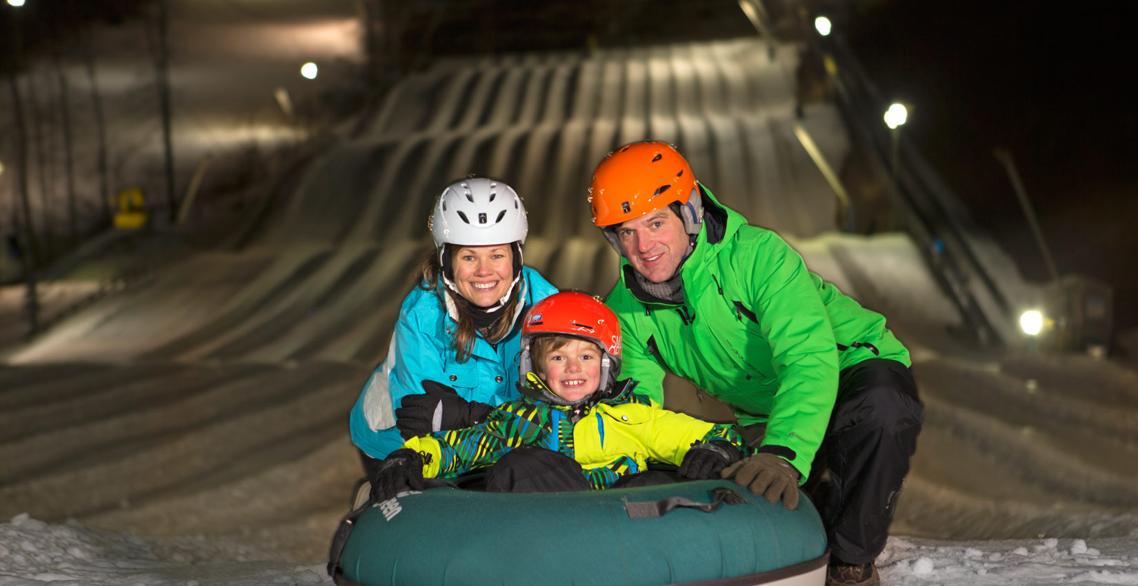 Blue Ridge Mountain Family Snow Tubing at Wintergreen Resort