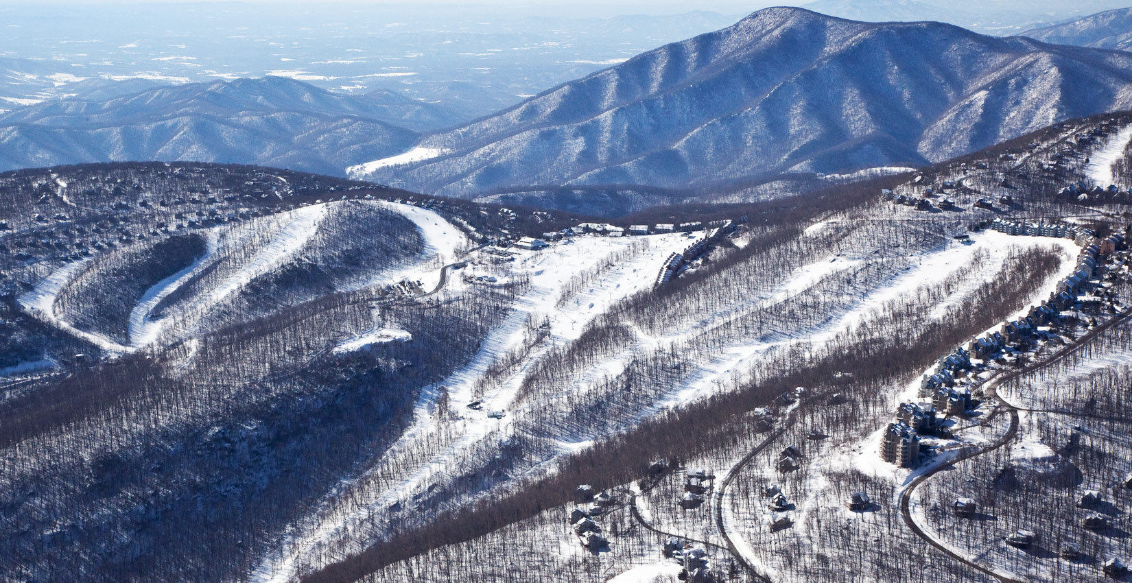 Blue Ridge Mountain Skiing and SNowboarding at Wintergreen Resort